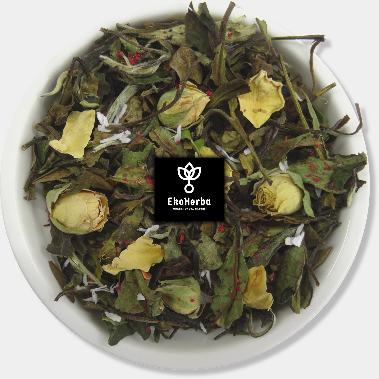 Biała róża herbata biała 50g