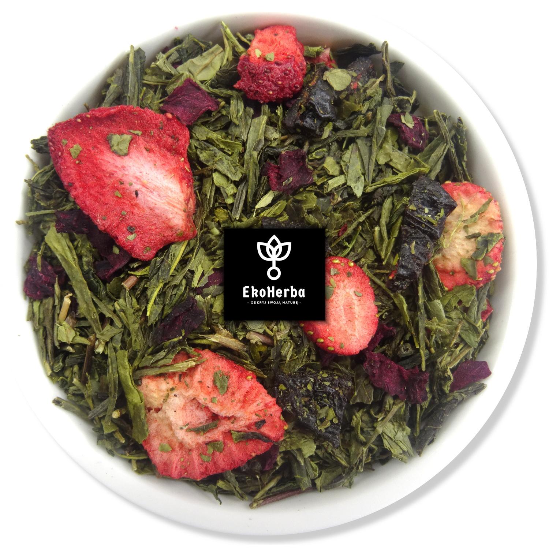 Piccolo herbata zielona z owocami 50g