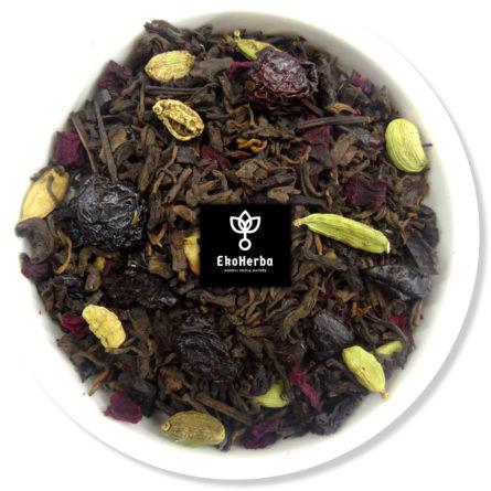 Piracki Rum herbata pu-erh z owocami 50g